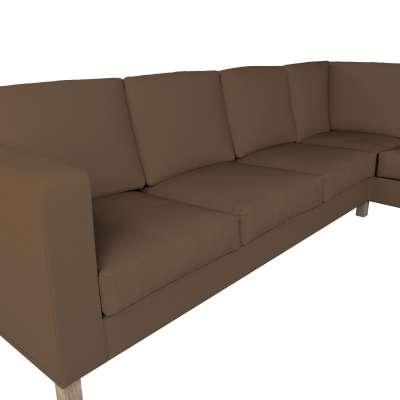 Pokrowiec na sofę narożną lewostronną Karlanda w kolekcji Cotton Panama, tkanina: 702-02