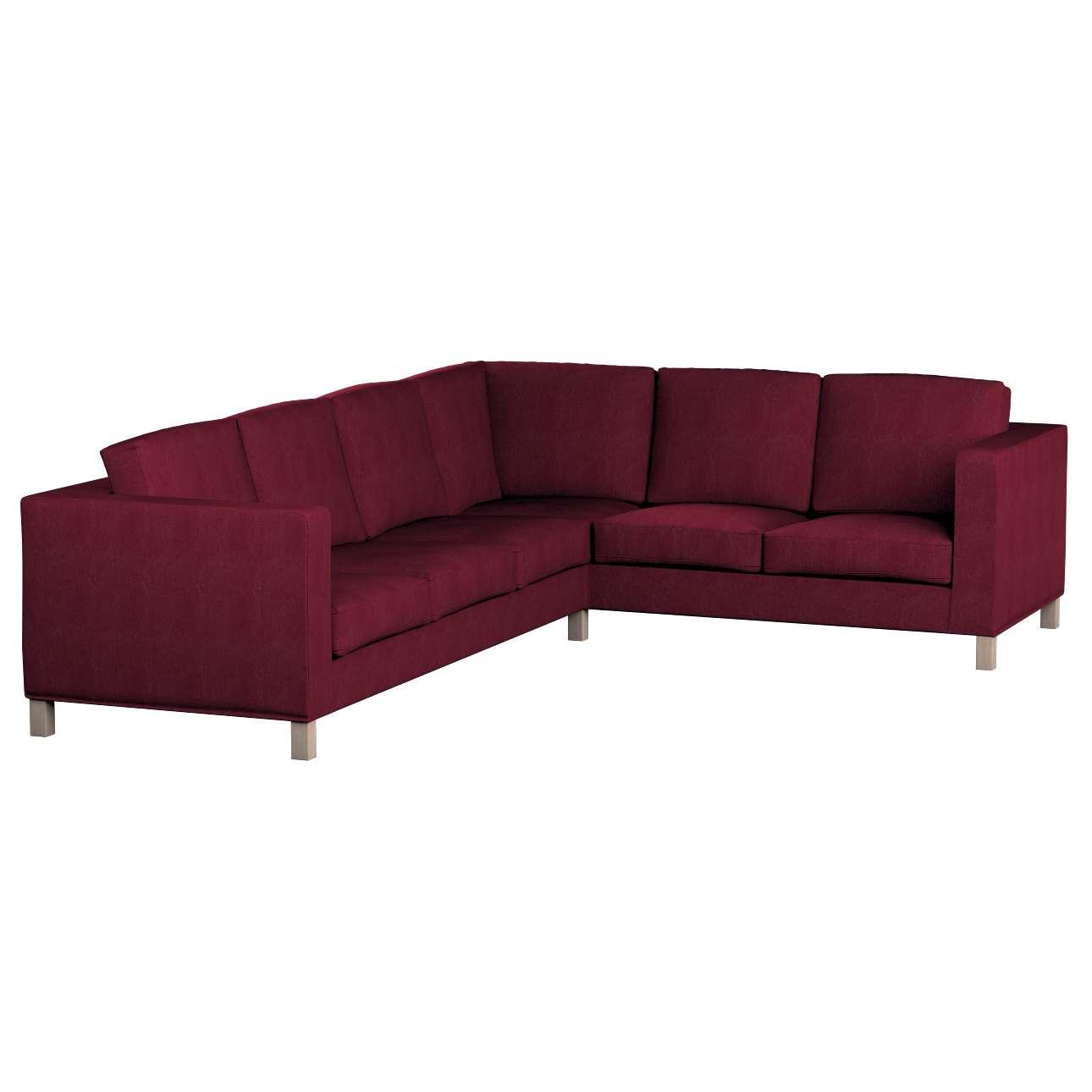 Pokrowiec na sofę narożną lewostronną Karlanda w kolekcji Chenille, tkanina: 702-19