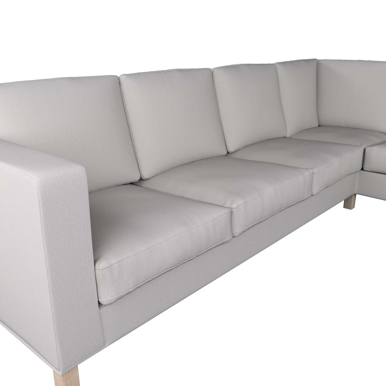 IKEA zitbankhoes/ overtrek voor Karlanda hoekbank links van de collectie Chenille, Stof: 702-23