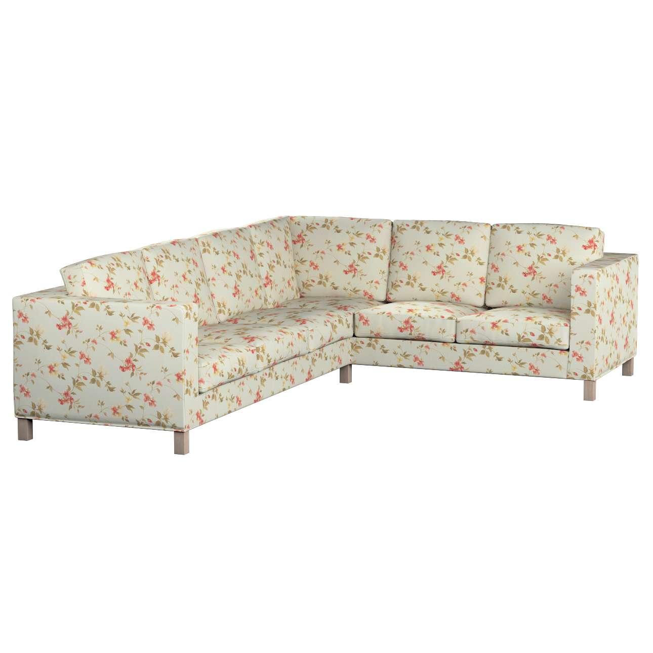 Pokrowiec na sofę narożną lewostronną Karlanda w kolekcji Londres, tkanina: 124-65