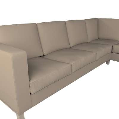 Karlanda Sofabezug Ecke links von der Kollektion Cotton Panama, Stoff: 702-28