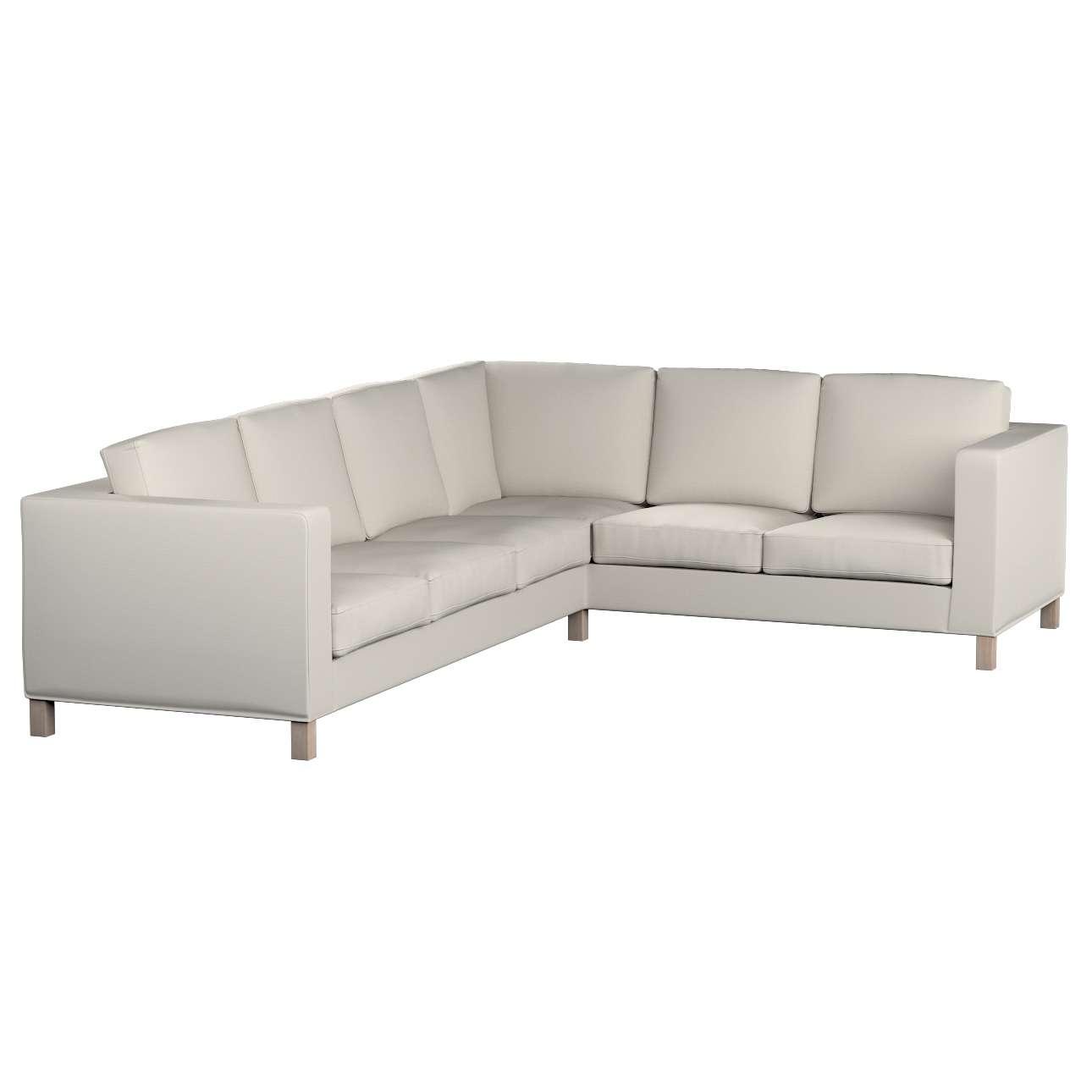 Pokrowiec na sofę narożną lewostronną Karlanda w kolekcji Cotton Panama, tkanina: 702-31