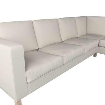 Karlanda Sofabezug Ecke links von der Kollektion Cotton Panama, Stoff: 702-31