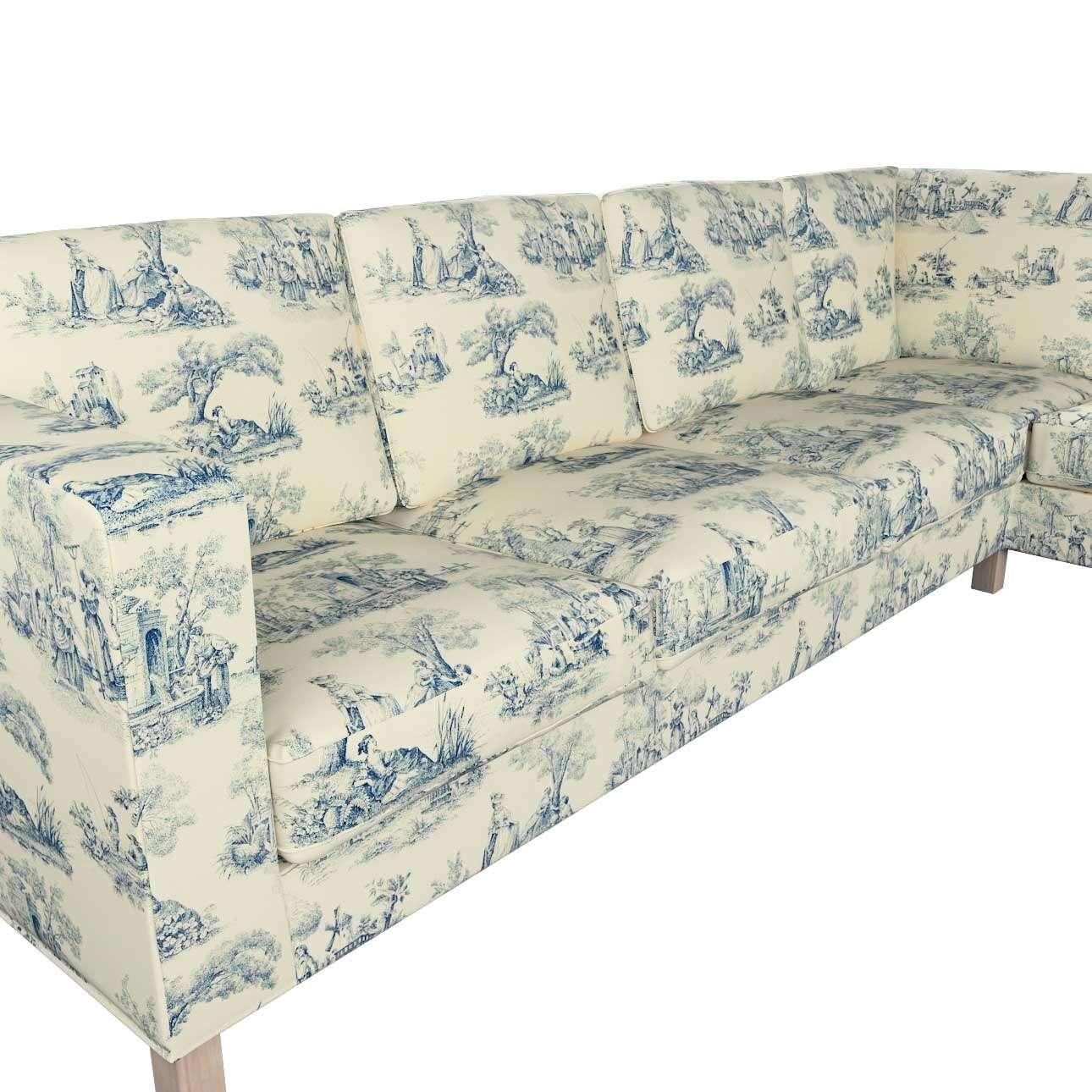 Pokrowiec na sofę narożną lewostronną Karlanda w kolekcji Avinon, tkanina: 132-66
