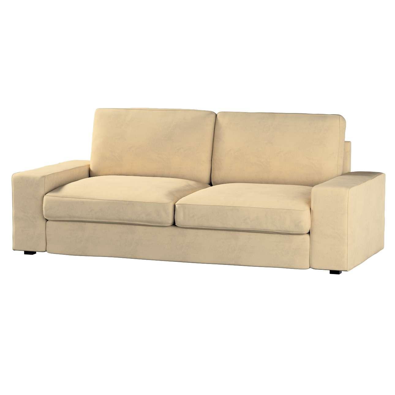 Kivik 3-Sitzer Sofabezug, sandfarben, Bezug für Sofa Kivik 3-Sitzer, Living günstig online kaufen