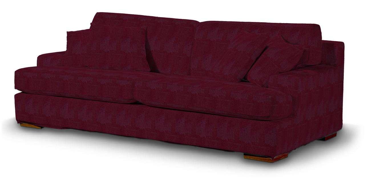 Pokrowiec na sofę Göteborg nierozkładaną w kolekcji Chenille, tkanina: 702-19