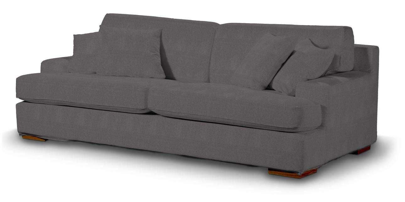 Pokrowiec na sofę Göteborg nierozkładaną w kolekcji Etna, tkanina: 705-35