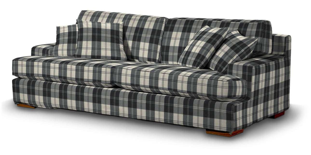 Pokrowiec na sofę Göteborg nierozkładaną w kolekcji Edinburgh, tkanina: 115-74