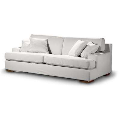 Pokrowiec na sofę Göteborg nierozkładaną w kolekcji Cotton Panama, tkanina: 702-34