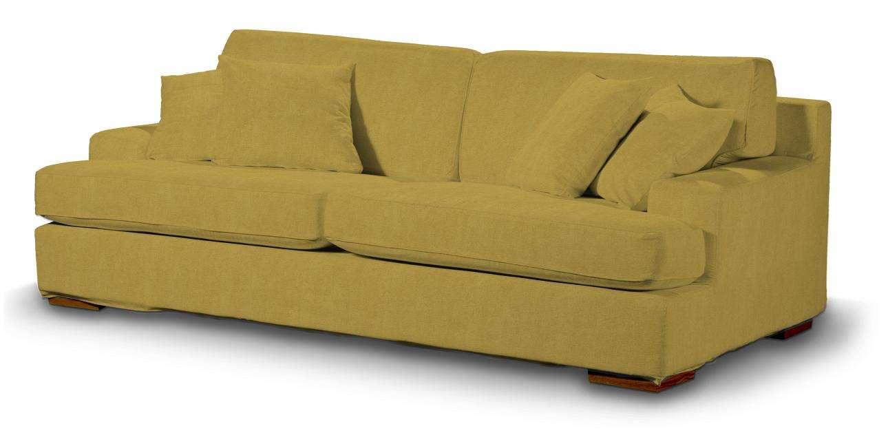 Pokrowiec na sofę Göteborg nierozkładaną w kolekcji Etna, tkanina: 705-04