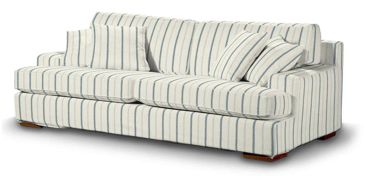Pokrowiec na sofę Göteborg nierozkładaną w kolekcji Avinon, tkanina: 129-66