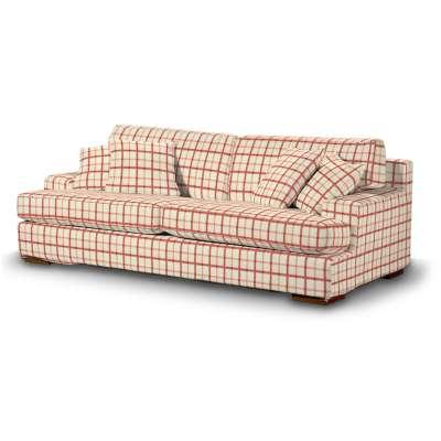 Pokrowiec na sofę Göteborg nierozkładaną w kolekcji Avinon, tkanina: 131-15
