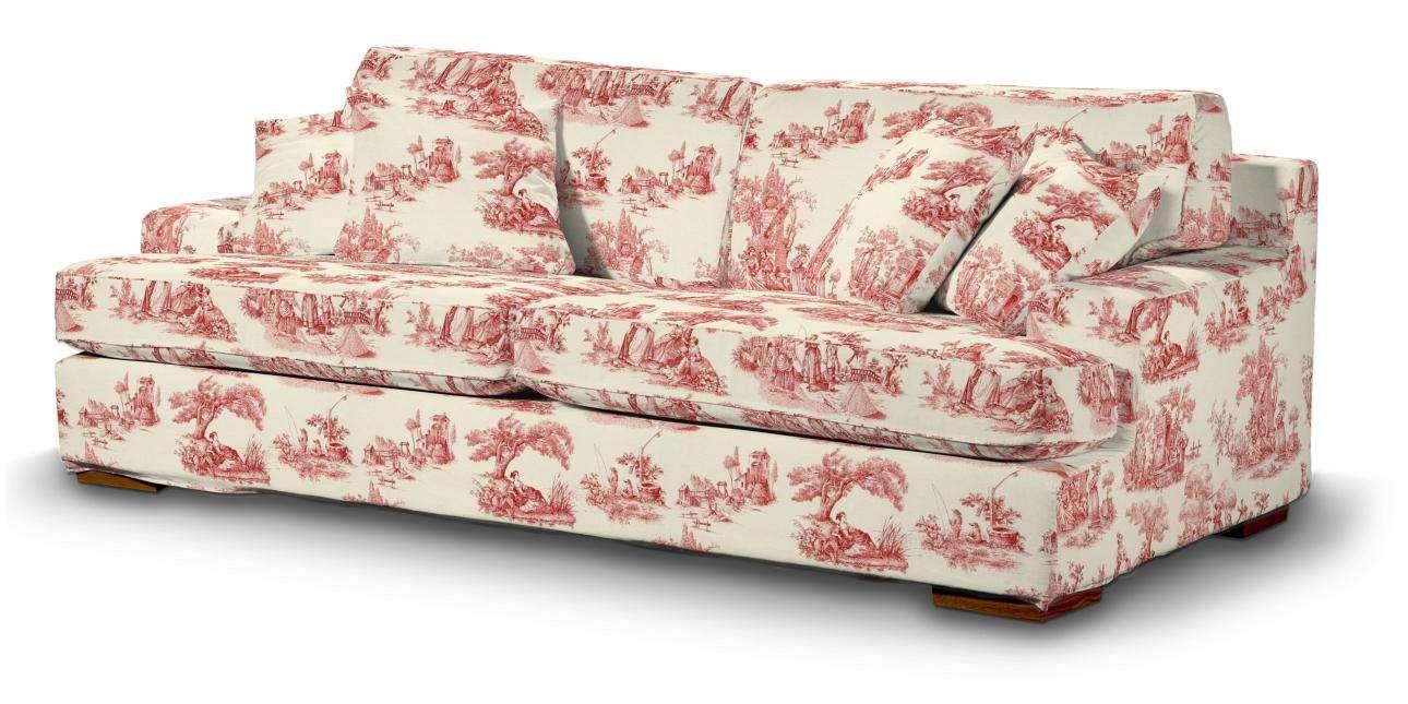 Pokrowiec na sofę Göteborg nierozkładaną w kolekcji Avinon, tkanina: 132-15