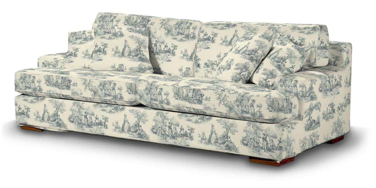 Pokrowiec na sofę Göteborg nierozkładaną w kolekcji Avinon, tkanina: 132-66