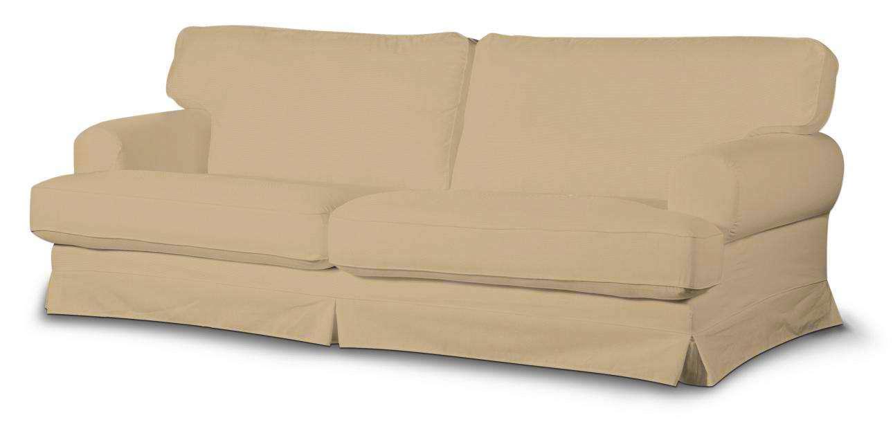 Pokrowiec na sofę Ekeskog nierozkładaną w kolekcji Cotton Panama, tkanina: 702-01