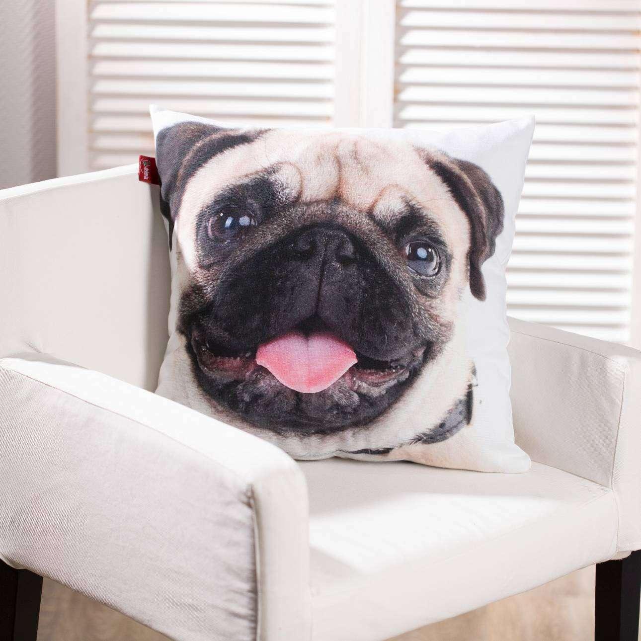 Kussenhoes Happy Dog 45x45cm