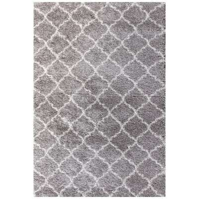Koberec Royal Morocco light grey/cream 67x130cm