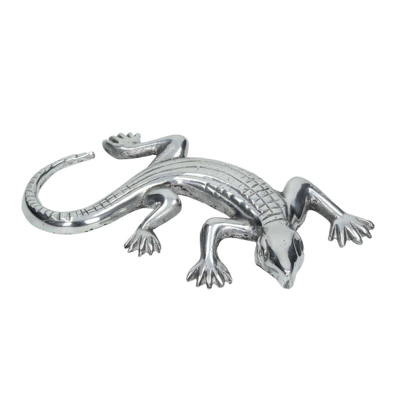 Dekofigur Lizard 28x15x3cm, 28 × 15 × 3 cm | Dekoration > Figuren und Skulpturen > Figuren | Dekoria