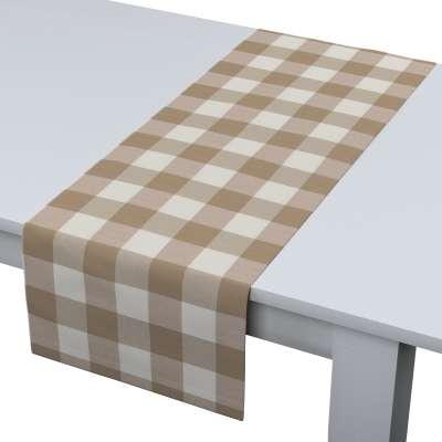 Rechthoekige tafelloper van de collectie Quadro, Stof: 136-08