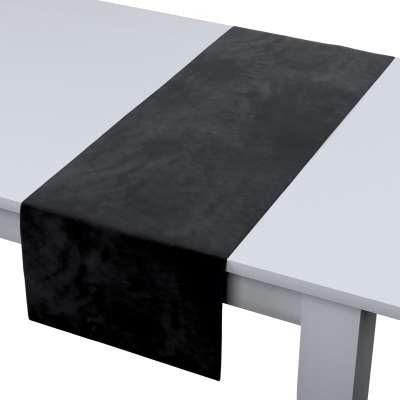 Rechthoekige tafelloper van de collectie Velvet, Stof: 704-17