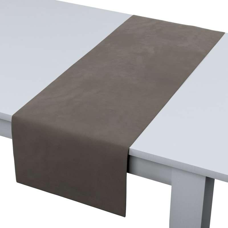 Table runner in collection Velvet, fabric: 704-19