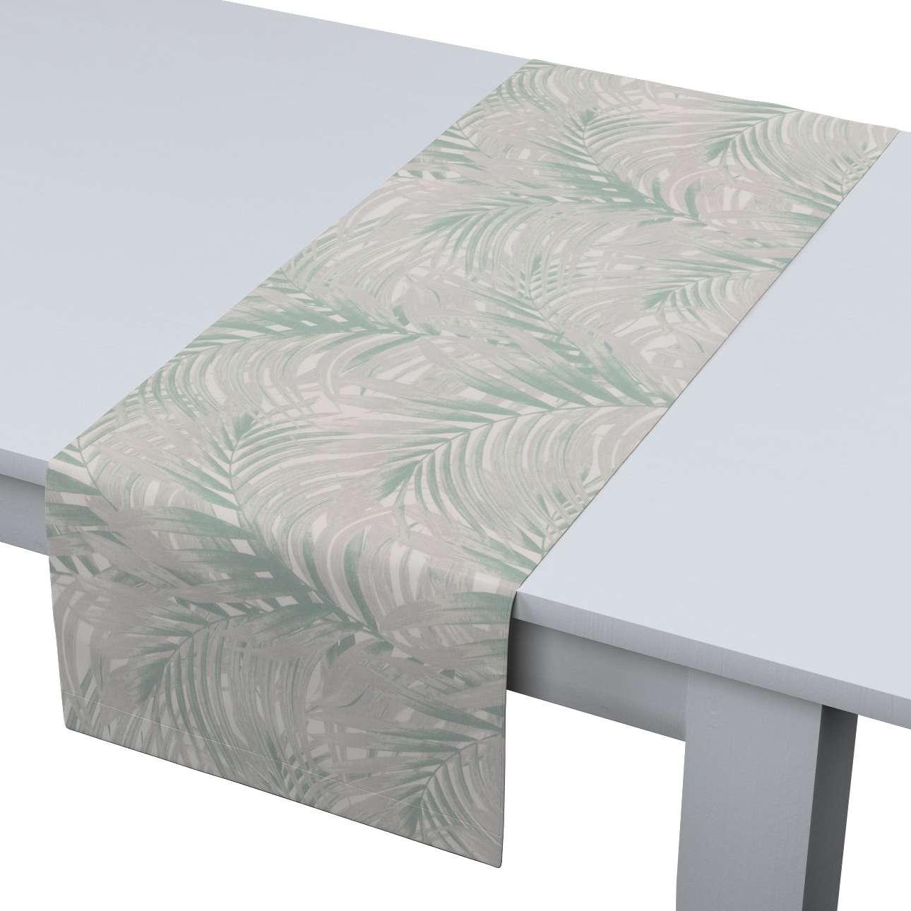 Rechthoekige tafelloper van de collectie Gardenia, Stof: 142-15