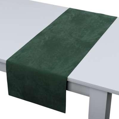 Rechthoekige tafelloper van de collectie Velvet, Stof: 704-25