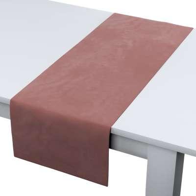 Rechthoekige tafelloper van de collectie Velvet, Stof: 704-30