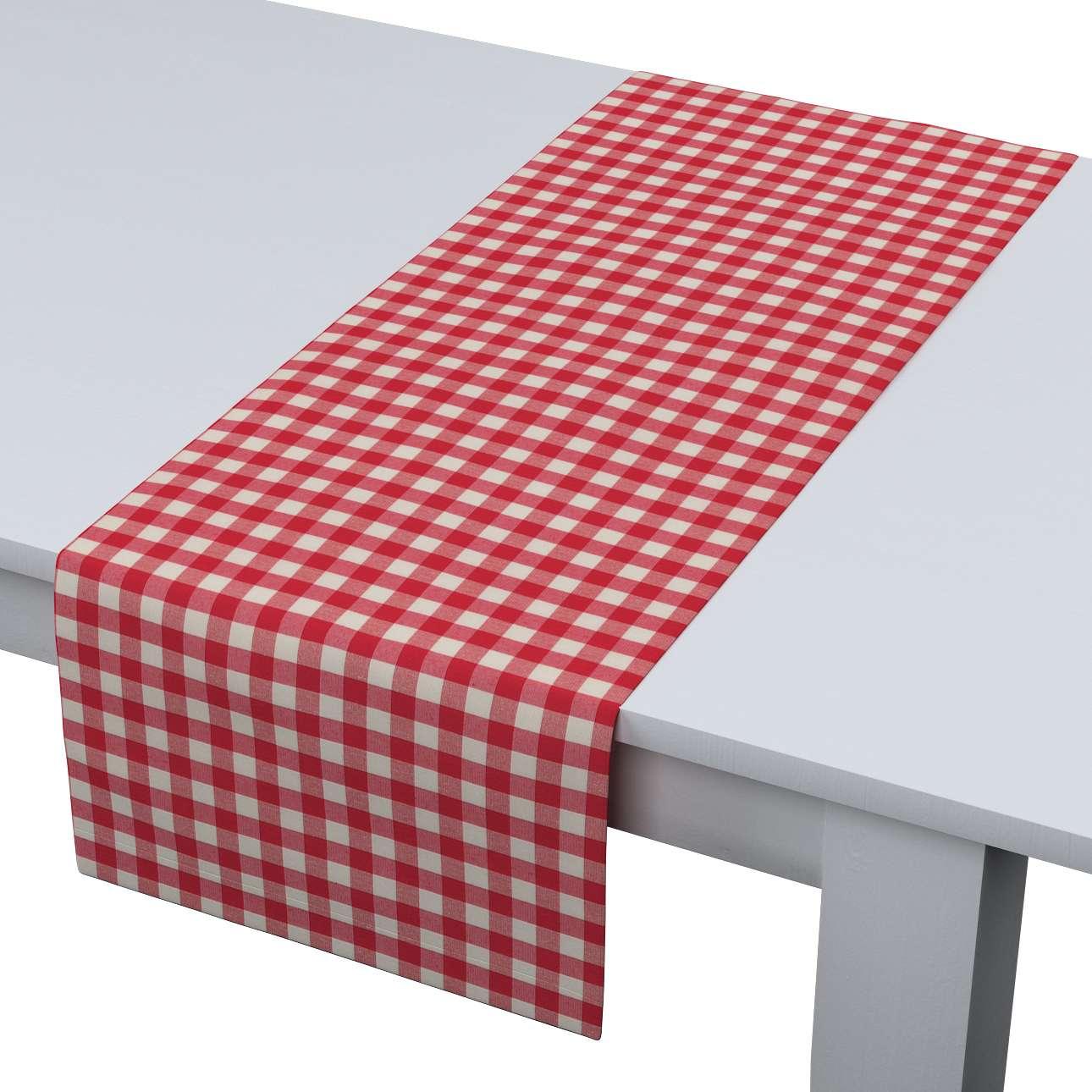 Bordløber - Dinner for 2 fra kollektionen Quadro II, Stof: 136-16