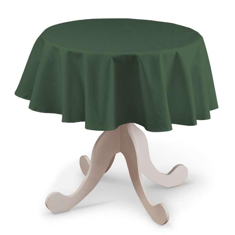 Runde Tischdecke von der Kollektion Cotton Panama, Stoff: 702-06