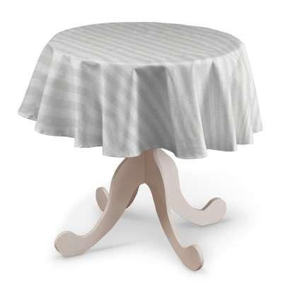 Pyöreä pöytäliina mallistosta Linen, Kangas: 392-03
