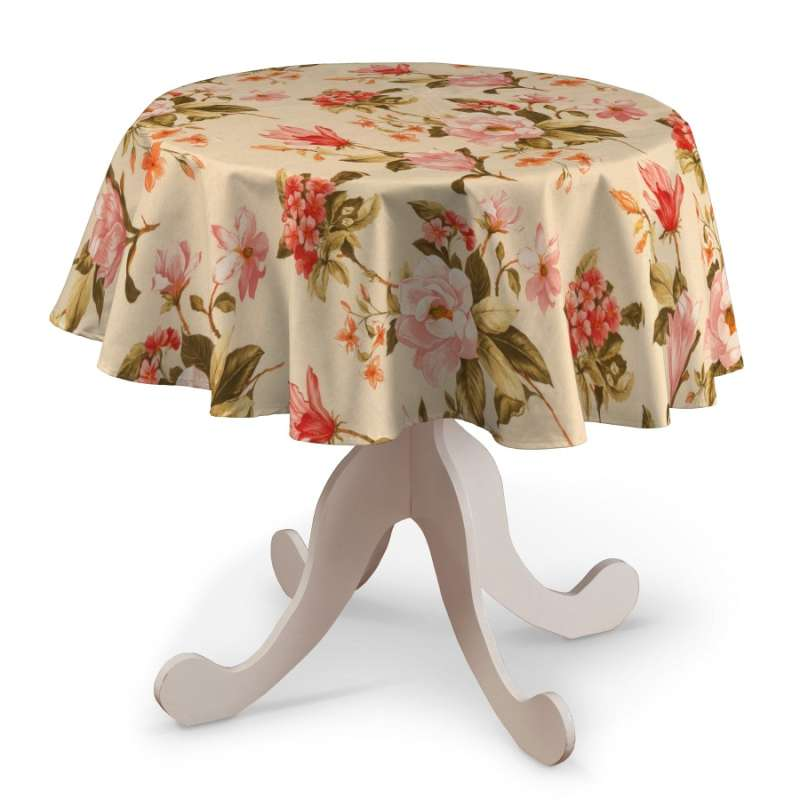 Round tablecloth in collection Londres, fabric: 123-05