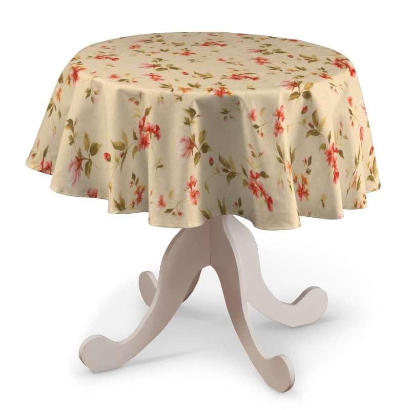 Kerek asztalterítő a kollekcióból Londres Bútorszövet, Dekoranyag: 124-05