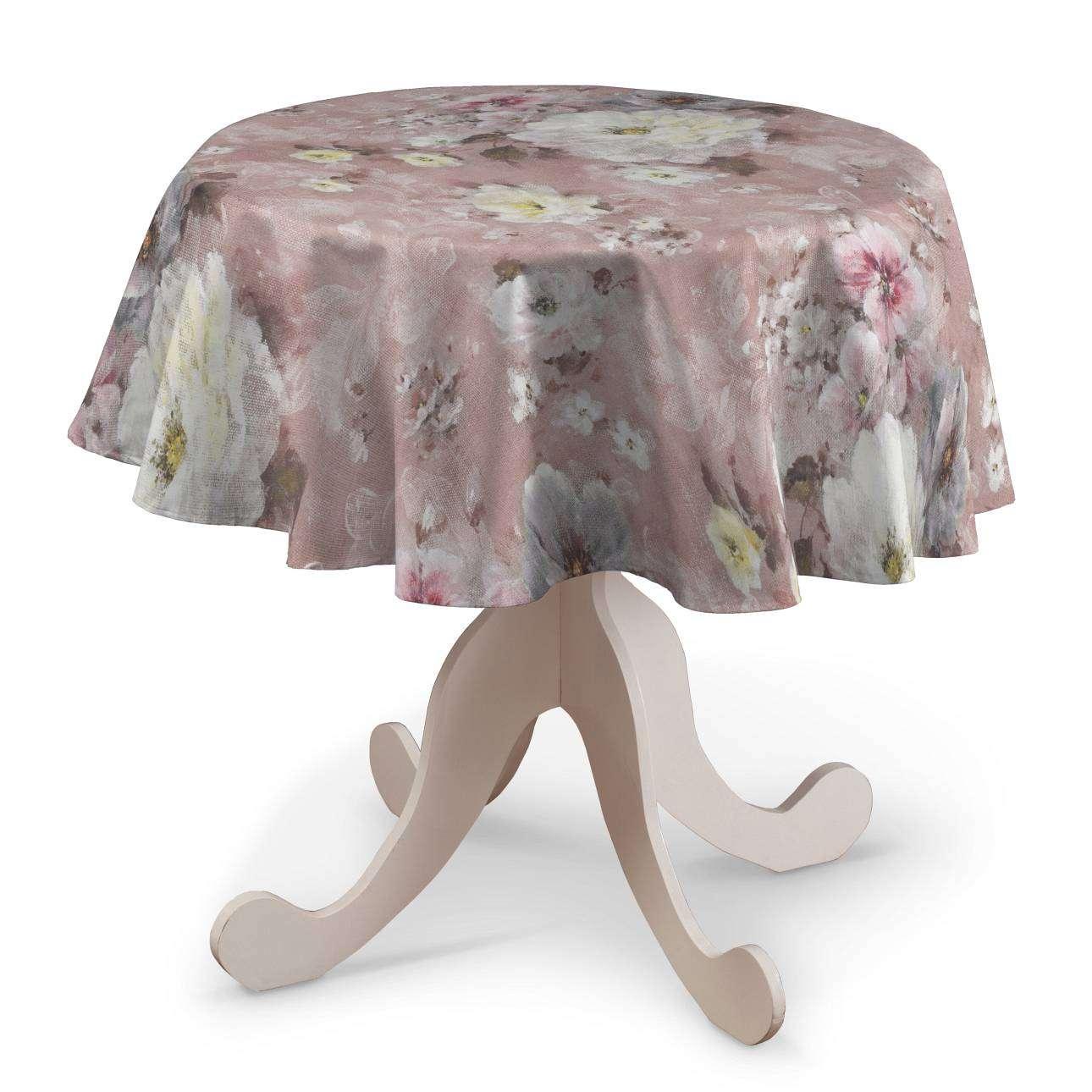 Rund bordduk fra kolleksjonen Monet , Stoffets bredde: 137-83