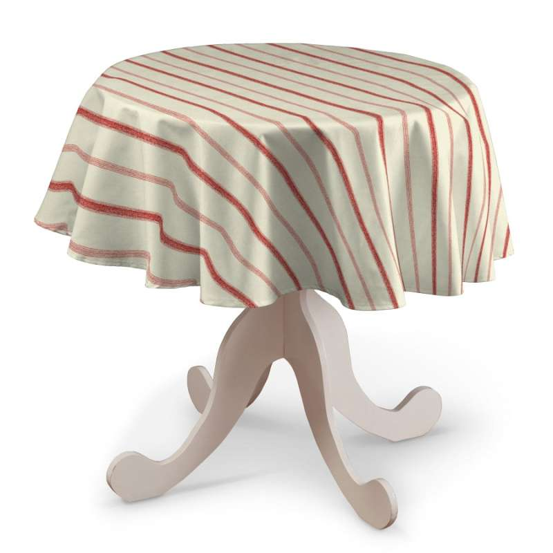 Runde borddug fra kollektionen Avinon, Stof: 129-15