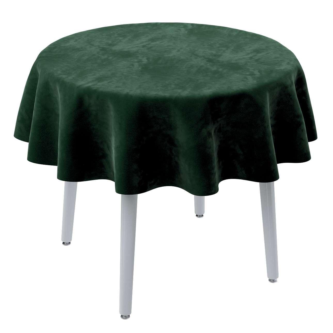Rund bordduk fra kolleksjonen Velvet, Stoffets bredde: 704-13