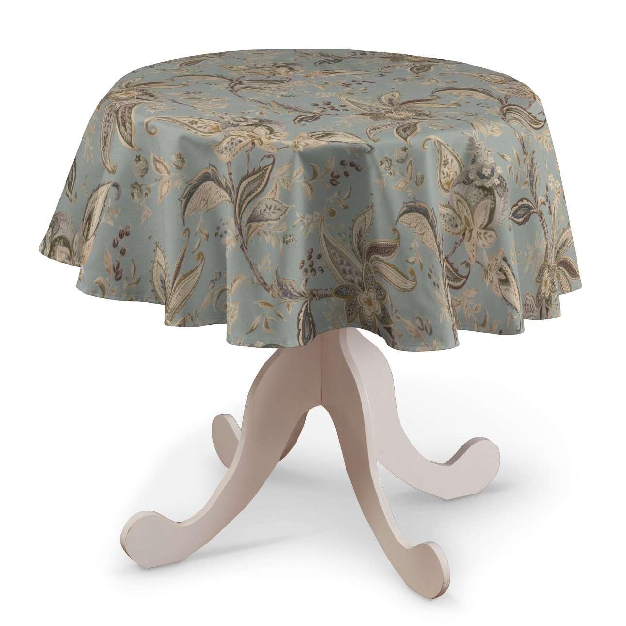 Rond tafelkleed van de collectie Gardenia, Stof: 142-18