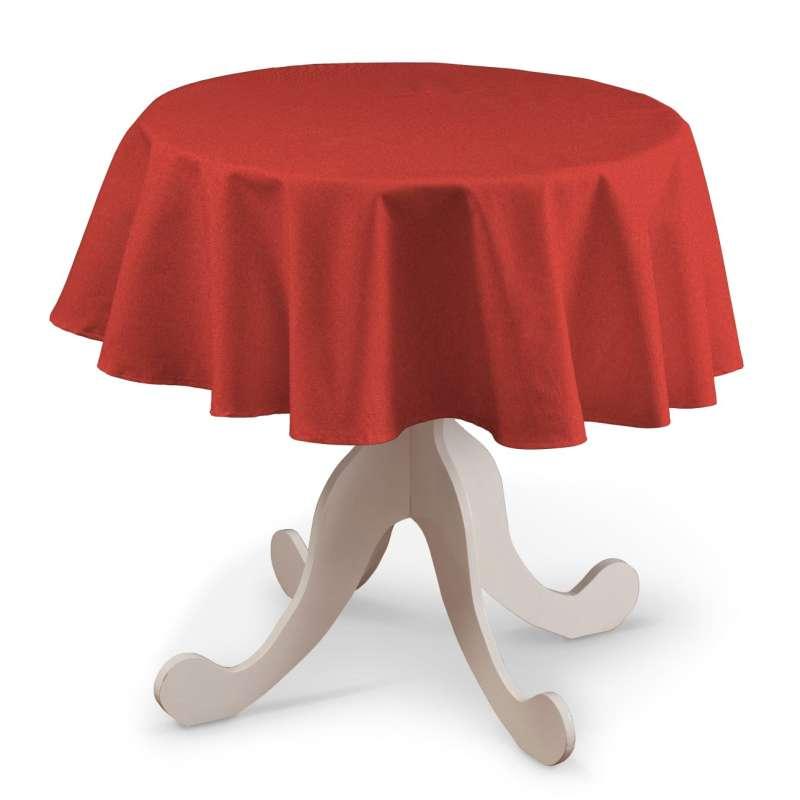 Runde Tischdecke von der Kollektion Edinburgh , Stoff: 142-33