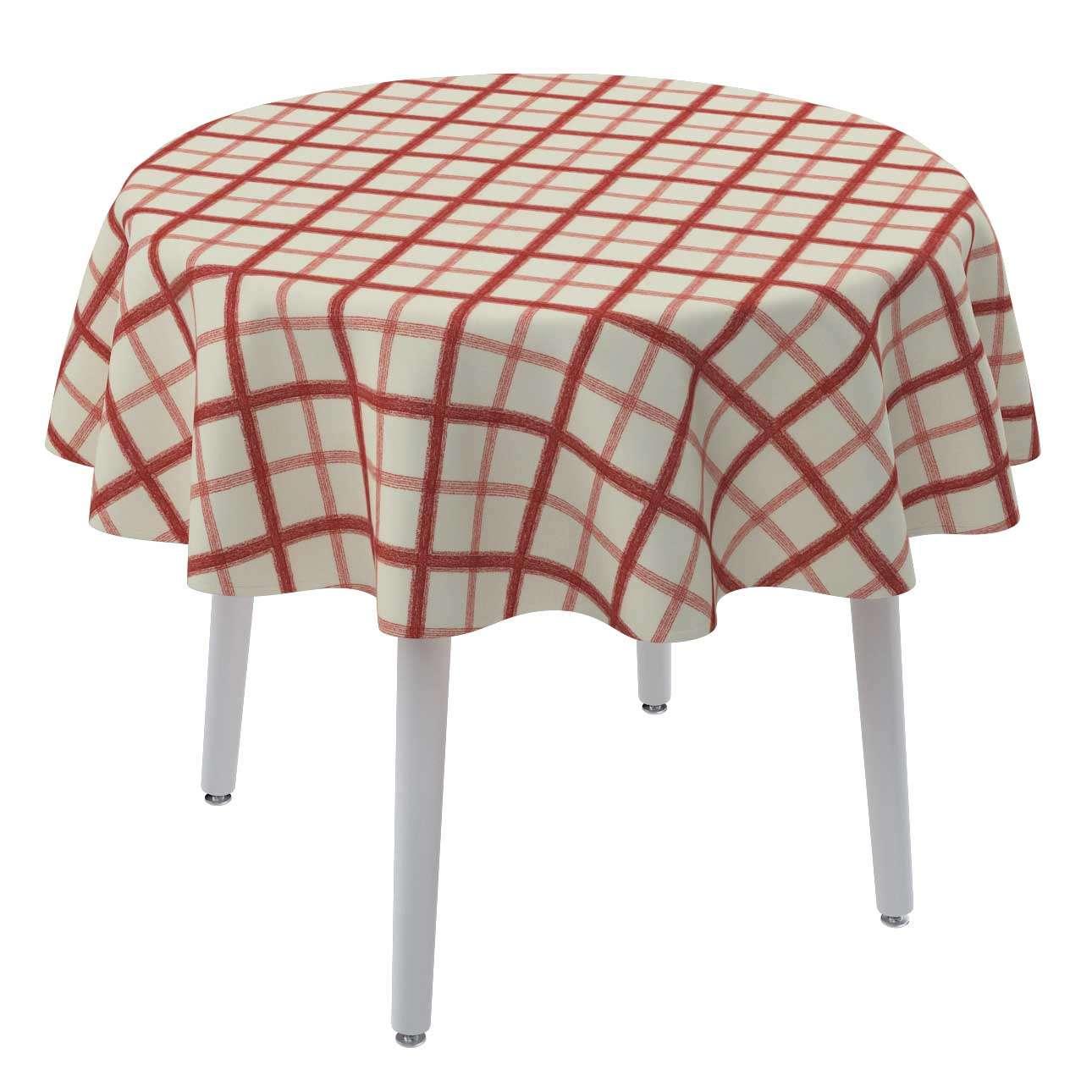 Runde borddug fra kollektionen Avinon, Stof: 131-15