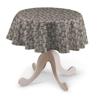 Pyöreä pöytäliina mallistosta Retro Glam, Kangas: 142-84