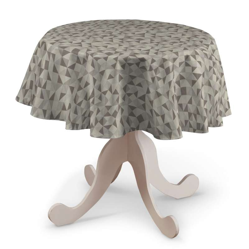 Round tablecloth in collection Retro Glam, fabric: 142-85