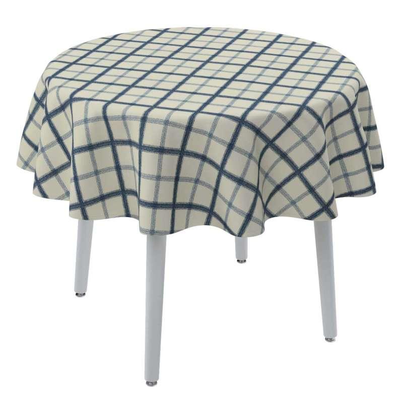 Runde borddug fra kollektionen Avinon, Stof: 131-66