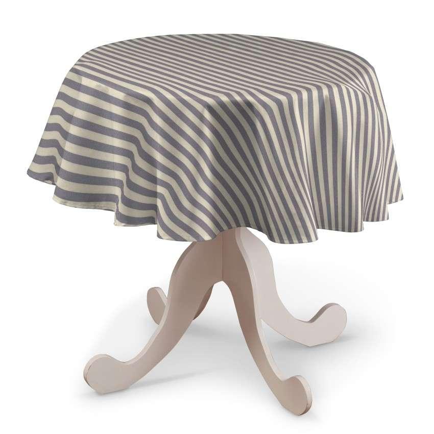 Runde borddug fra kollektionen Quadro II, Stof: 136-02