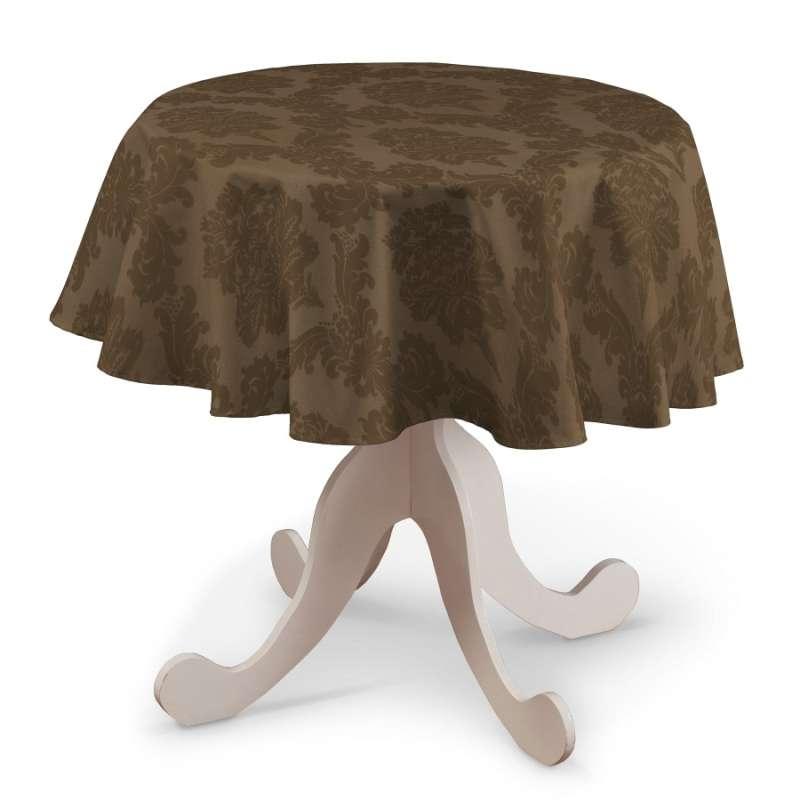 Runde borddug fra kollektionen Damasco, Stof: 613-88
