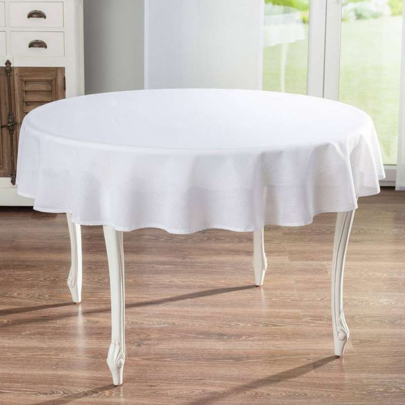 Round tablecloth in collection Romantica, fabric: 128-77
