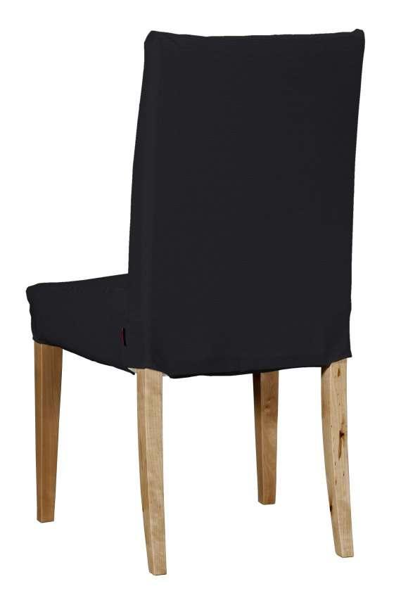 Henriksdal stol kort klädsel, Svart, 705 00, Överdrag till
