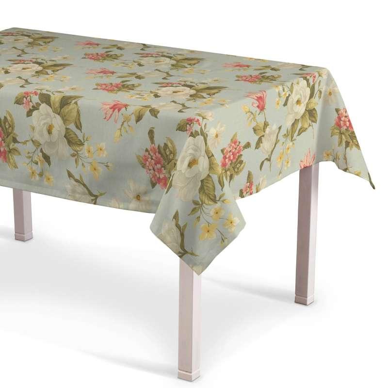 Rektangulær bordduk fra kolleksjonen Londres , Stoffets bredde: 123-65