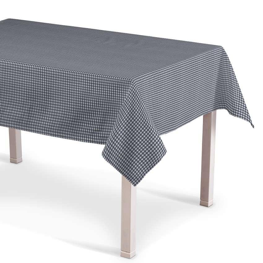 Rechthoekig tafelkleed van de collectie Quadro, Stof: 136-00