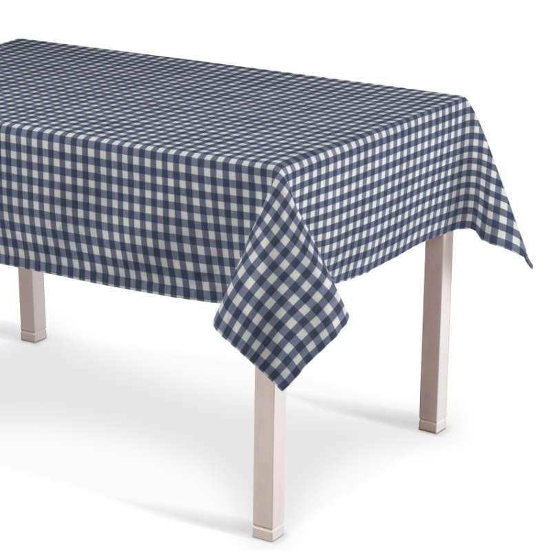 Obrus na stôl obdĺžnikový V kolekcii Quadro, tkanina: 136-01