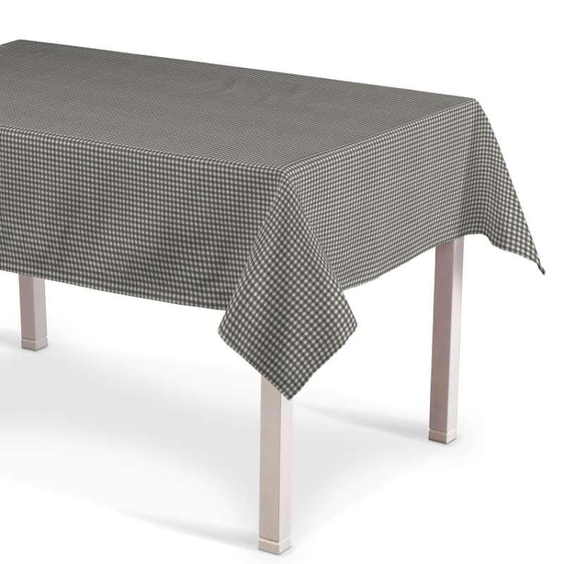 Obrus na stôl obdĺžnikový V kolekcii Quadro, tkanina: 136-10